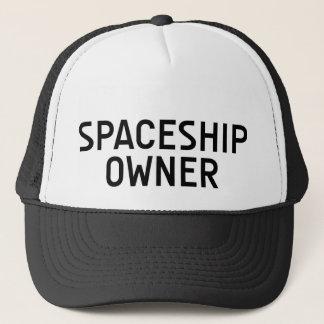 SPACESHIP OWNER fun slogan hat
