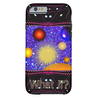 Spaceship Planets Universe Science STEM Geeky Tough iPhone 6 Case