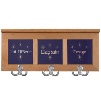 Spaceship Ranks Template Coat Racks