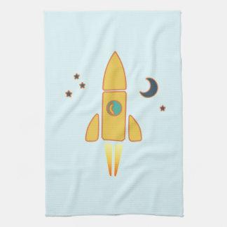 Spaceship Towel
