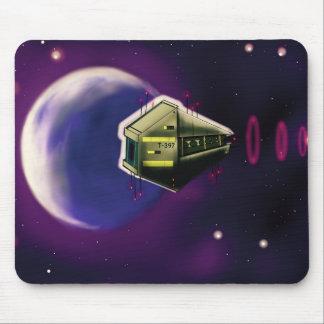 Spaceship Transport Mousepad