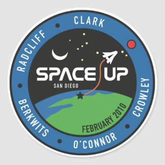 SpaceUp San Diego 2010 sticker