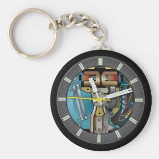 SpaceView Watch Keychain