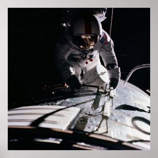 Spacewalk (Apollo 17) Poster