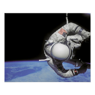 Spacewalk (Gemini 12) Poster