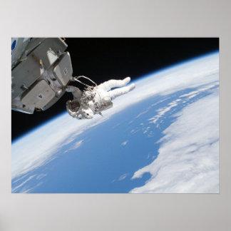 Spacewalk (STS-130) Poster