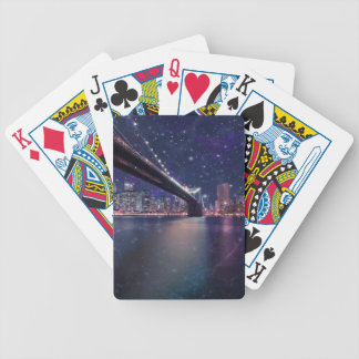 Spacey Manhattan Skyline Poker Deck