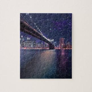 Spacey Manhattan Skyline Puzzle