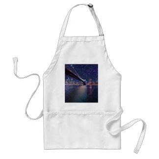 Spacey Manhattan Skyline Standard Apron