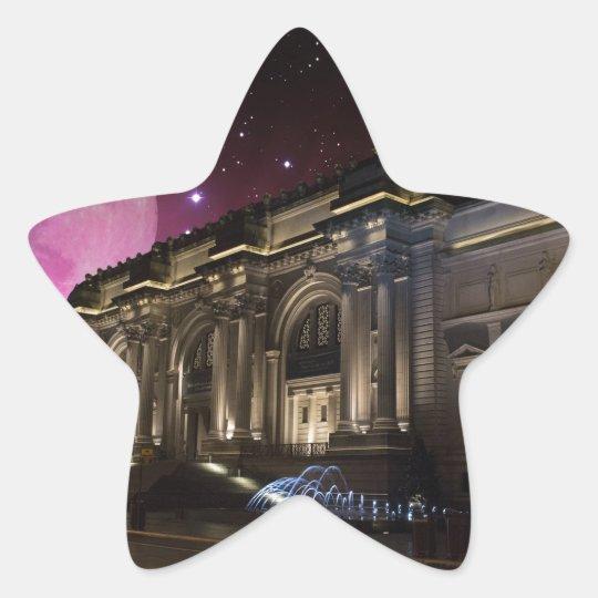 Spacey Metropolitan Museum Star Sticker
