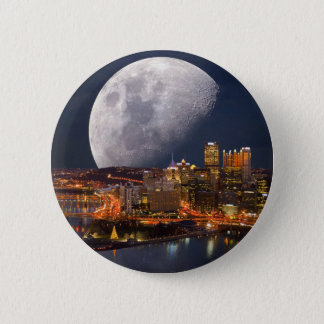 Spacey Pittsburgh 2 Inch Round Button