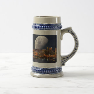 Spacey Pittsburgh Beer Stein