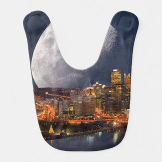 Spacey Pittsburgh Bib