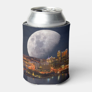 Spacey Pittsburgh Can Cooler