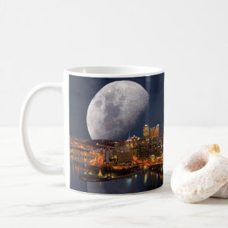 Spacey Pittsburgh Coffee Mug