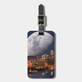 Spacey Pittsburgh Luggage Tag