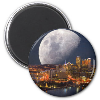 Spacey Pittsburgh Magnet