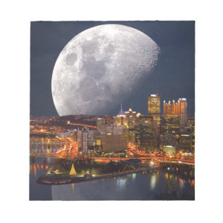 Spacey Pittsburgh Notepad