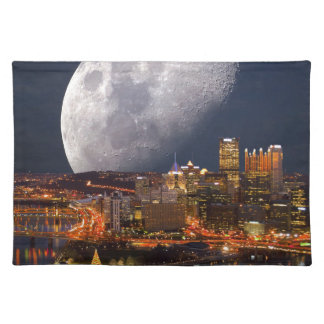Spacey Pittsburgh Placemats