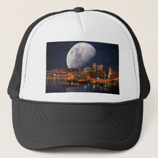 Spacey Pittsburgh Trucker Hat