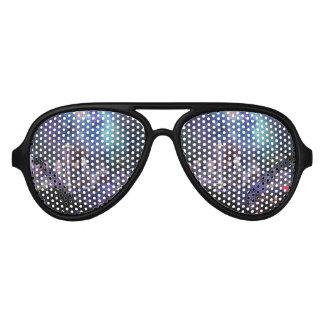 Spacey Seattle Aviator Sunglasses