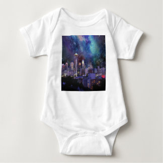 Spacey Seattle Baby Bodysuit