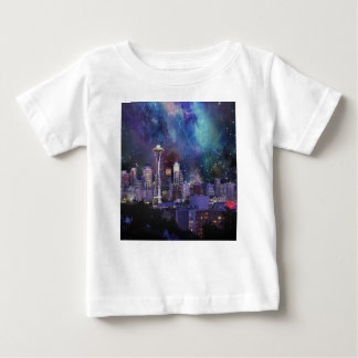Spacey Seattle Baby T-Shirt