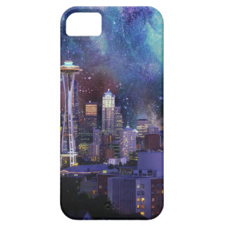Spacey Seattle iPhone 5 Cases
