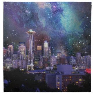 Spacey Seattle Napkin