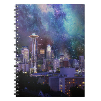Spacey Seattle Notebooks
