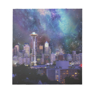 Spacey Seattle Notepad