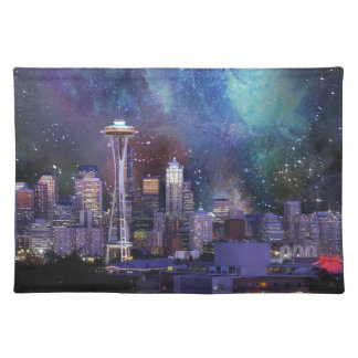 Spacey Seattle Placemat
