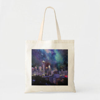 Spacey Seattle Tote Bag