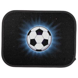 Spacey Soccer Ball Rear Car Mat