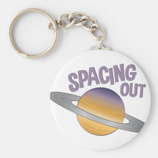 Spacing Out Keychain