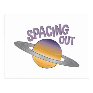 Spacing Out Postcard