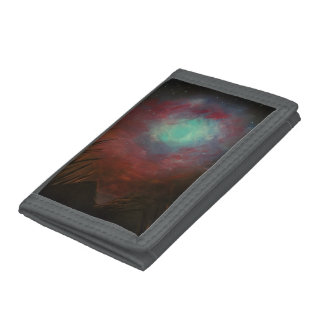 Spacious Sky Trifold Wallet