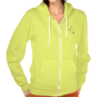 Spade and  Rake in love Hooded Sweatshirt