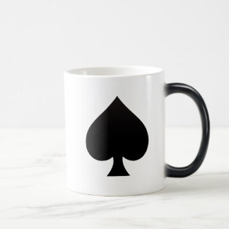 Spade - Suit of Cards Icon Magic Mug