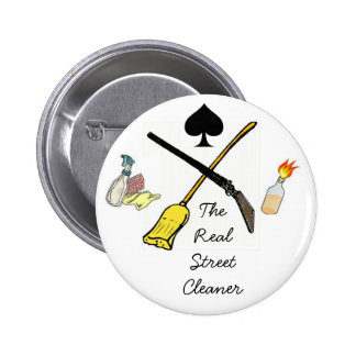 Spade: The Real Street Cleaner Button