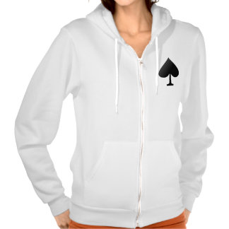 Spade Zip Up women s Hoodie