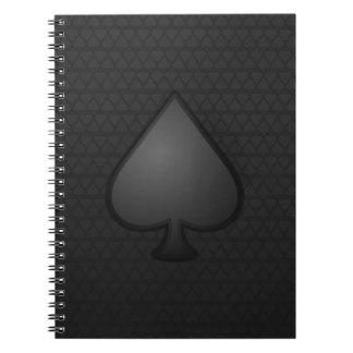 Spades Symbol Notebook