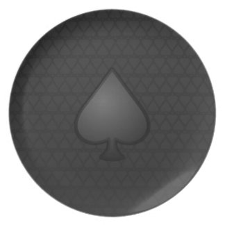 Spades Symbol Plate