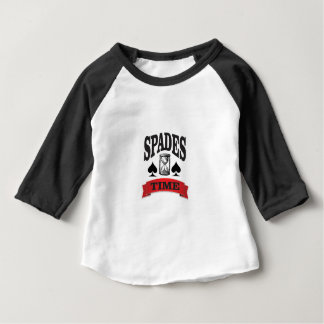 spades time with red banner baby T-Shirt