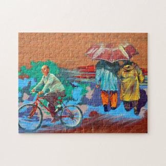 Spadina Culture Art Toronto. Jigsaw Puzzle