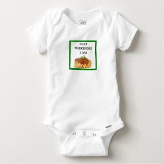 spaghetti baby onesie