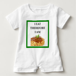 spaghetti baby romper