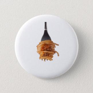 Spaghetti bolognese 2 inch round button