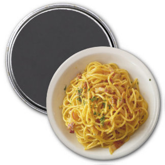 Spaghetti Fettuccine Food Magnet
