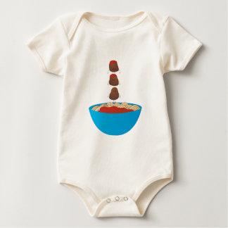 Spaghetti & Meatballs Baby Bodysuit